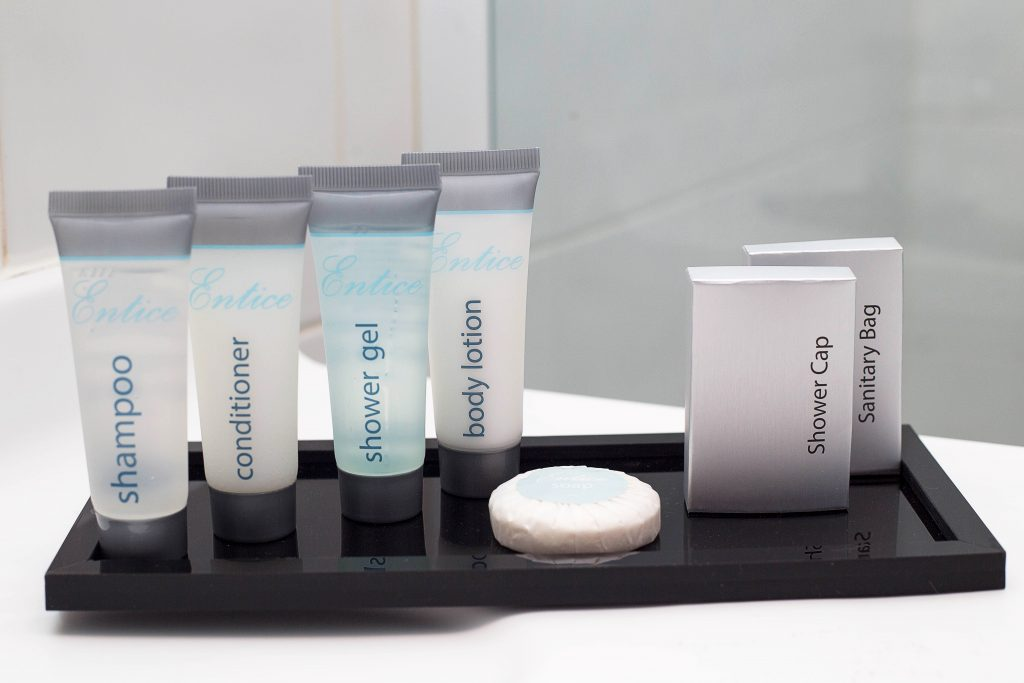 RapidClean Entice Guest Amenities